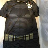 New Under Armour YXL Boys Youth XL Alter Ego Batman Fitted Heatgear Shirt