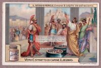 The Ostracism Of Cimon Cimone Greek Greece Military History c1915 Trade Ad Card