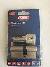 ABUS E30 Nickel Tür- Profilzylinder E30 NP 28/34 B, Sicherheit 6 , CodeCard