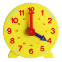 Kids Teaching Clock Child Learn To Tell The Time Boys Girls Educational Toys NEW
