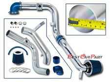 BCP BLUE 00-03 Ford Focus 2.0L L4 Cold Air Intake Racing System + Filter