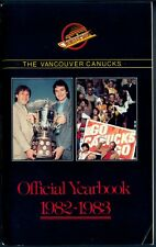 1982-83 VANCOUVER CANUCKS HOCKEY YEARBOOK GUIDE With Stan Smyl Richard Brodeur
