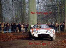Sandro Munari Lancia Stratos HF Rally Rac 1974 fotografía 3