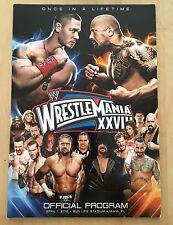 WWE Wrestlemania 28 Program - Official Arena Edition - Magazine - WWF