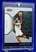 DWYANE WADE TOPPS FINEST CHROME SURFACE RARE SP MIAMI HEAT