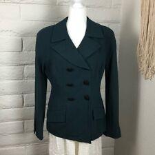 Dior Women's Green Vintage Christian Hunter Jackets Coats Blazers Size 14