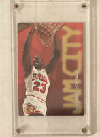 MICHAEL JORDAN 1995-1996 Fleer Ultra JAM CITY Foil Insert #3 NBA BASKETBALL CARD