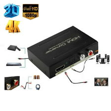 1080P HDMI to SPDIF Optical 4K RCA L/R Analog Audio Extractor Converter Splitter