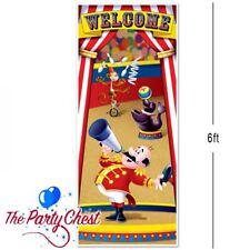 6 FT (ca. 1.83 m) Tenda da Circo PORTA COPERTURA TENDONE circo festa decorazione porta di benvenuto 52189