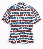 "Urban Outfitters USA ""F Yeah"" Shirt $49        4th of July"
