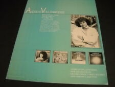 Andreas Vollenweider .extraordinary music Original 1987 Promo Poster Ad mint
