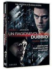 DvD UN RAGIONEVOLE DUBBIO (2014) *** Dominic Cooper,Samuel L. Jackson *** ..NEW