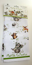 Matilda Gumleaf Fun Tea Towel Ashdene 100 Cotton Koala Bear Kangaroo Ostrich