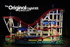 Deluxe Version LED Lighting kit for LEGO Roller Coaster 10261