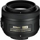 Nikon Nikkor AF-S 35mm f/1.8G DX Prime Lens (Black) 2183 New Import