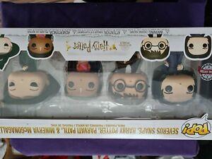 Harry Potter Funko Pop 4 Pack Special Edition Snape Harry Parvati & McGonagall