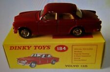 VOLVO 122-S BOXED DINKY-NOREV FACTORY MINT RED WHITE INSIDE LHD STEERING VOLVO
