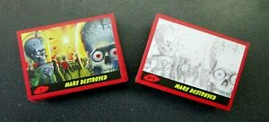 MARS ATTACKS THE REVENGE RED /99  PARALLEL SINGLES**PICK YOUR NUMBERS BELOW***