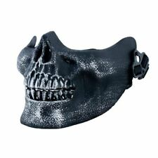 Silver Novelty Half Skull Mask Halloween Skeleton Jaw Face Protection Mask