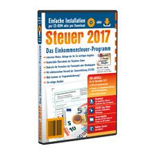 ALDI Steuer 2017 mit Begleitheft für die Steuererklärung 2017CD