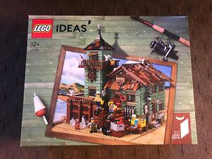 NEW SEALED Lego 21310 Ideas Old Fishing Store FREE SHIPPING