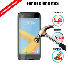 9H Premium Tempered Glass Screen Protector Guard Film For HTC One A9S / U12 Life