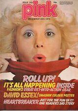 Pink Magazine 20 December 1975 No 143      David Essex      Sparks