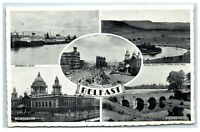 Postcard Belfast Northern Ireland 5 views