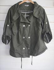 Quiksilver Women's Green Jacket - Size M