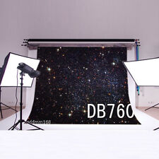 Space Stars Vinyl backdrop Photography PhotoProp Studio Background 7X5FT DB760