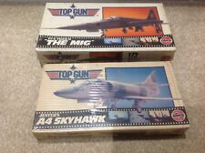 Airfix 1/72 TOP GUN the Mig F5-e Tiger 2/A4 Skyhawk  Vintage Model Aircraft Kit