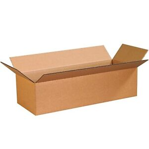 1 X Long Cardboard Boxes 140cm x 25cm x 25cm high Strong Double Walled