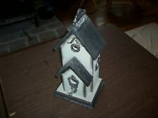 Victorian Style Decorative Bird House – Wood and Metal