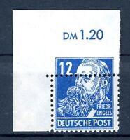 SBZ-allg Ausgaben MiNr. 216 versetzter Kammschlag postfrisch MNH (T487