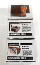 Downtown Deco N Scale Building Kits New Releases Specially Priced 3 kits!