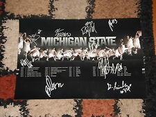 2014 MICHIGAN STATE SPARTANS TEAM SIGNED 12X18 PHOTO