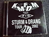 KMFDM-Sturm & Drang Tour 2002 CD