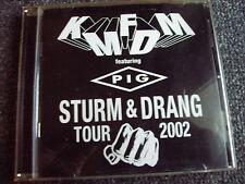 KMFDM-Sturm & Drang Tour 2002 CD
