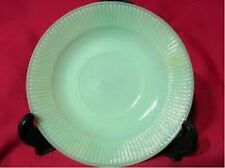 Anchor Hocking Fire King Jadeite/Jadite JANE RAY Plain Back Saucer/s (loc-sau12)