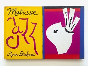"HENRI MATISSE ""JAZZ"" RARE VINTAGE 1960 LITHOGRAPH PRINT MOMA COLLECTOR ART BOOK"