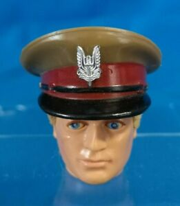 ACTION MAN Vintage SAS Talking COMMANDER Peak Cap HAT Accessory 1980s PALITOY