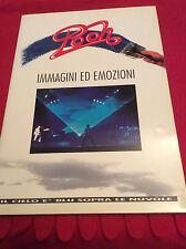 POOH IMMAGINI e EMOZIONI BOOK FOTOGRAFICO e BIGLIETTO TOUR IL CIELO E' BLU 1993