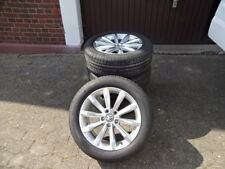 Original VW Passat B8 Alufelgen London Sommerreifen 215/55R17 DOT15 6-7mm