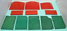 Vintage Bayko Oddments, Roofs, Roof Sections & Bases - Used - (3389)
