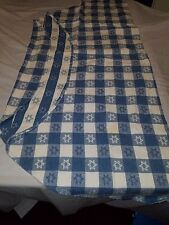 Vintage Star of David Picnic 70 inch Round Tablecloth