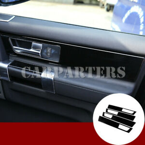 For Land Rover Discovery 4 LR4 Black Car Door Panel Moulding Cover 2010-2016