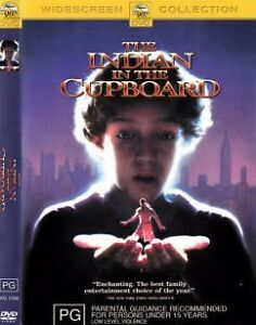 The Indian In The Cupboard DVD_1995_Hal Scardino_PG KIDS MOVIE_LN