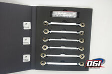 Package turnbuckles set for the Losi 5ive 4130 chromoly steel