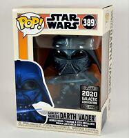 Funko POP Darth Vader Concept Series Star Wars 2020 Galactic Con GameStop NEW
