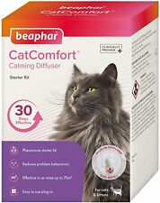 More details for beaphar catcomfort calming diffuser plug in kit pheromone release / refill spray